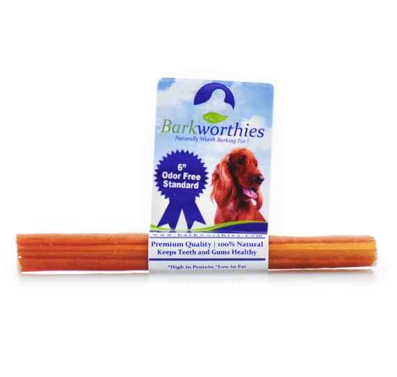 barkworthies odor free bully stick dog treats 6. Black Bedroom Furniture Sets. Home Design Ideas