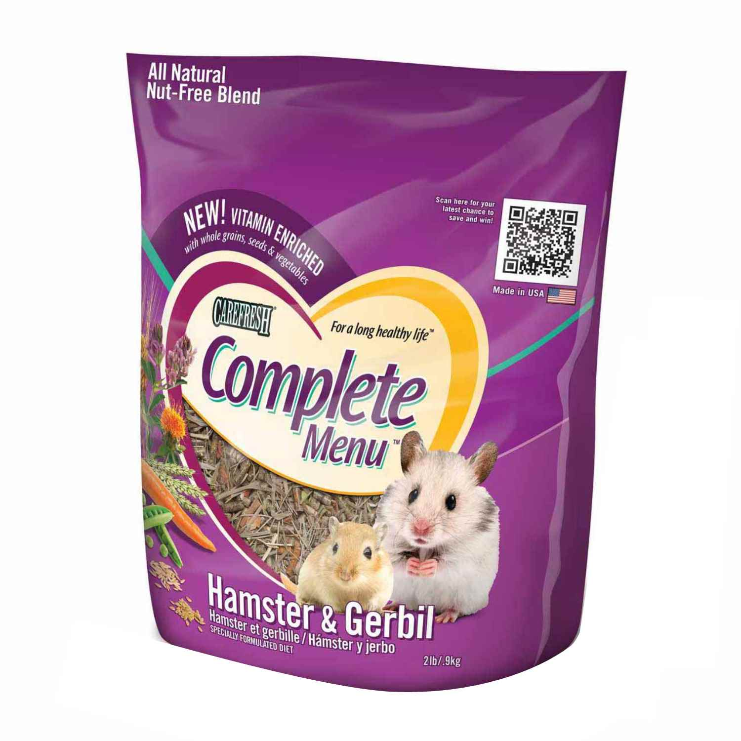 carefresh complete menu hamster gerbil food. Black Bedroom Furniture Sets. Home Design Ideas