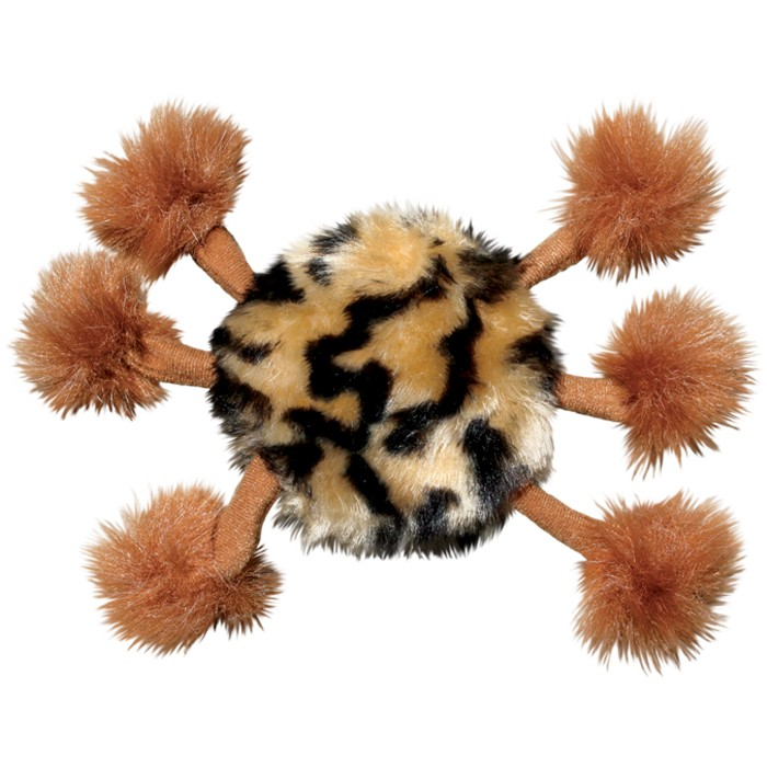 kong daddy pom pom legs cat toy