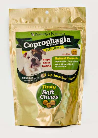 Naturvet Coprophagia Stop Stool Eating Deterrent Dog Soft