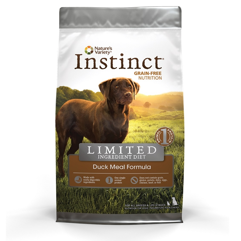 Nature S Variety Instinct Limited Ingredient Dog Food