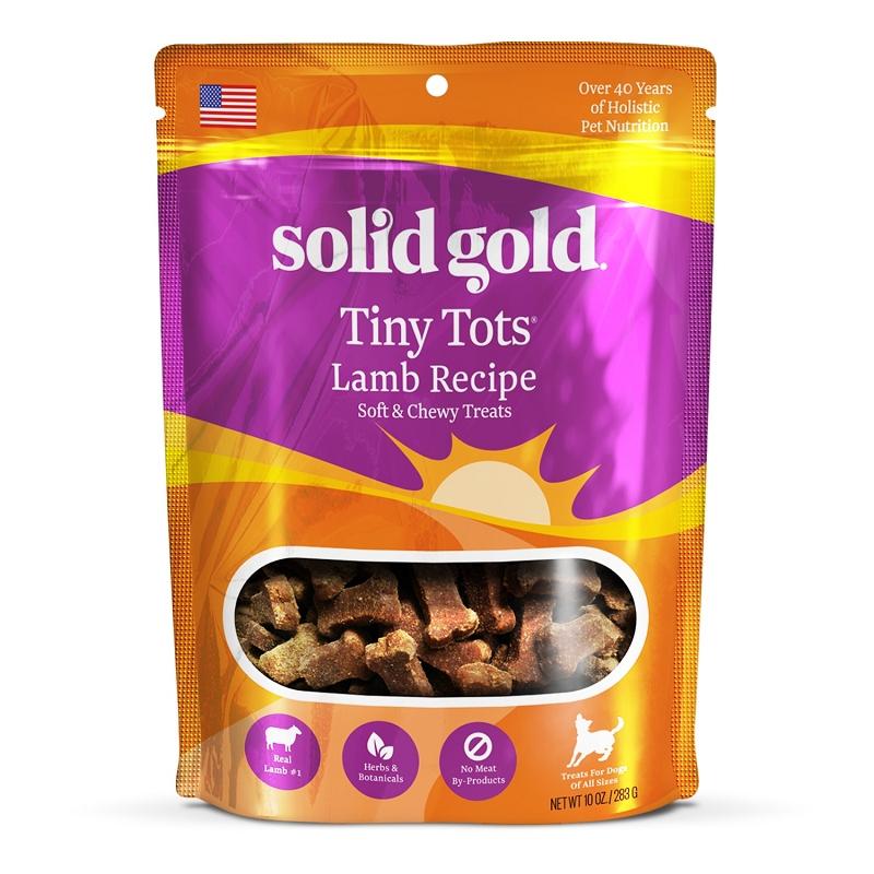 Solid Gold Tiny Tots Lamb Jerky Formula Dog Treats