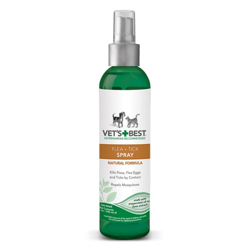 Natural Flea And Tick Home Spray For Cats