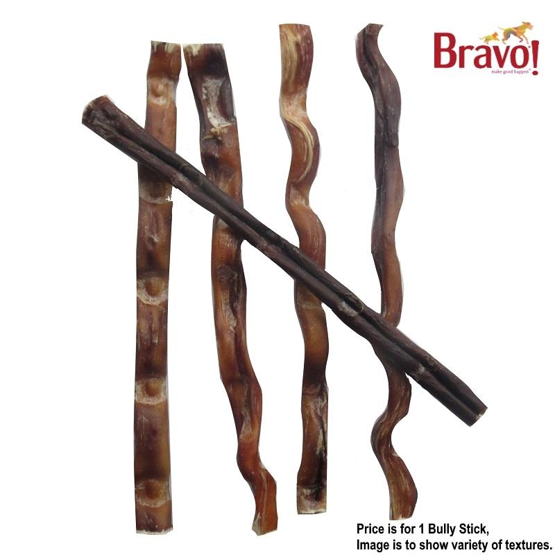 bravo medium bully sticks dog treats 10 12. Black Bedroom Furniture Sets. Home Design Ideas