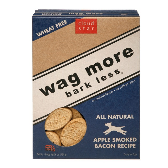 Cloud Star Wag More Bark Less Oven Baked Apple Smoked Bacon Recipe Dog ...
