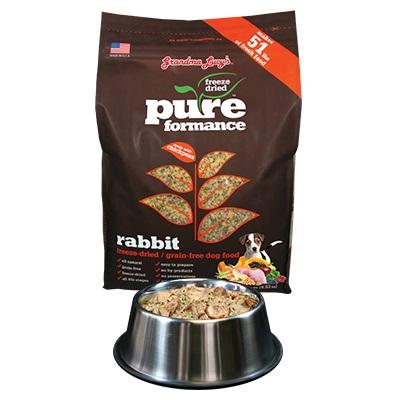 Raw Freeze-Dried Canine Rabbit Formula | PrimalPetFood