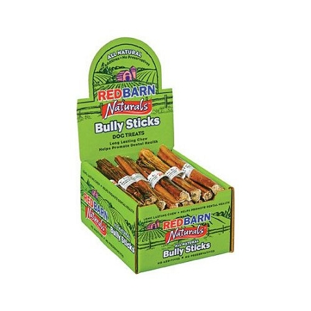 red barn 5 bully sticks dog treats case of 50. Black Bedroom Furniture Sets. Home Design Ideas