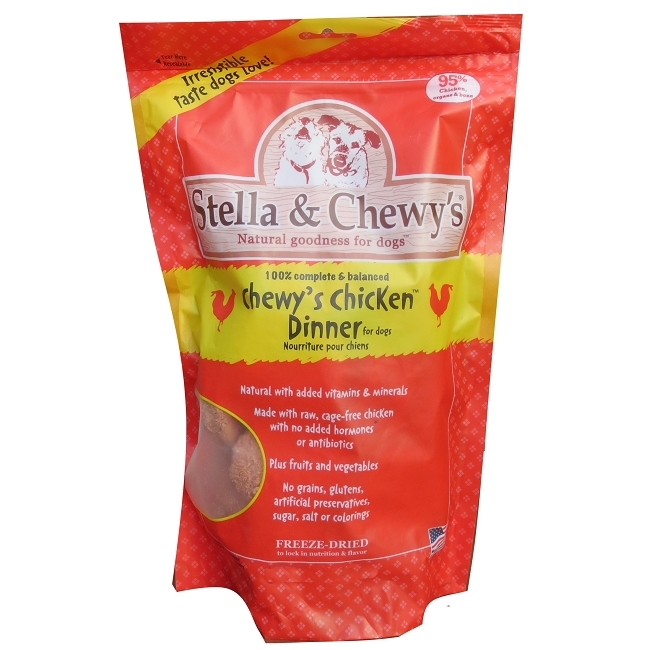 Language In 45 And 47 Stella Street: Stella & Chewys Chewys Chicken Dinner Freeze Dried Dog