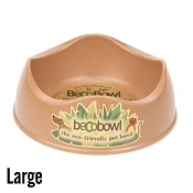 Beco Bowl Brown Eco-Friendly Pet Bowl, Large
