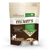 Nature's Variety Instinct Raw Boost Mixers Lamb Formula Freeze-Dried Dog Food Topper, 6-oz Bag