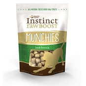 Nature's Variety Instinct Raw Boost Munchies Lamb Formula Freeze-Dried Dog Treats