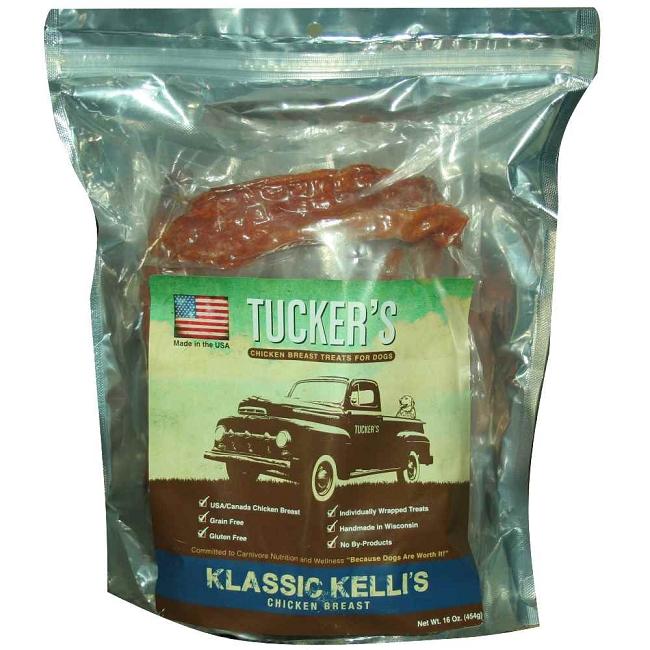 ... Treats > Tuckers Klassic Kelli's USA Chicken Breast Jerky Dog Treats