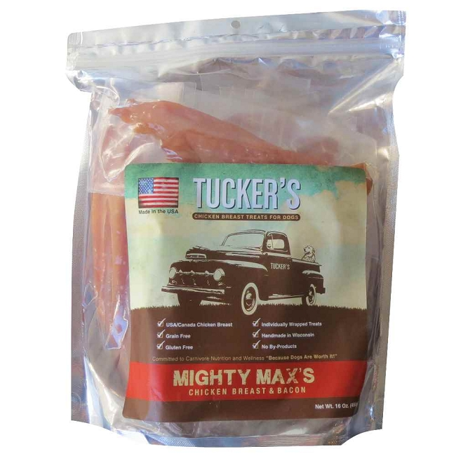 Home > Dog Treats > All Dog Treats > Tuckers Mighty Maxs USA Chicken...