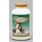 NaturVet Dog Supplement Brewers Yeast and Garlic with Linoleic Acid 500 ct