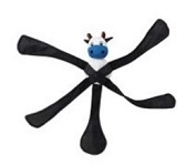 Doggles PentaPulls Cow Dog Toy