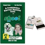 Shoo! Tag Dog Fly Repellent - Single