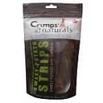 Crumps Naturals Sweet Potato Strips with Oatmeal Dog Treats