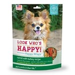Look Who's Happy Wraps Carrot with Turkey Recipe Dog Treats