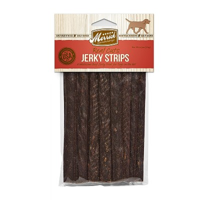 merrick beef real cuts jerky strips dog treats. Black Bedroom Furniture Sets. Home Design Ideas