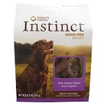 Nature's Variety Instinct Grain-Free Biscuits with Rabbit Meal & Apples Dog Treats