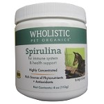 Wholistic Pet Organics Spirulina Supplement for Dogs