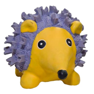 Hugglehounds Ruff-Tex Violet the Hedgehog Dog Toy, Mini