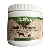 Animal Essentials Herbal Multi-Vitamin Dog and Cat Supplement, 150-Grams