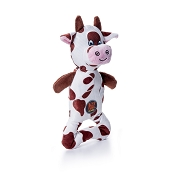 Charming Pet Patches Cow Dog Toy, Large