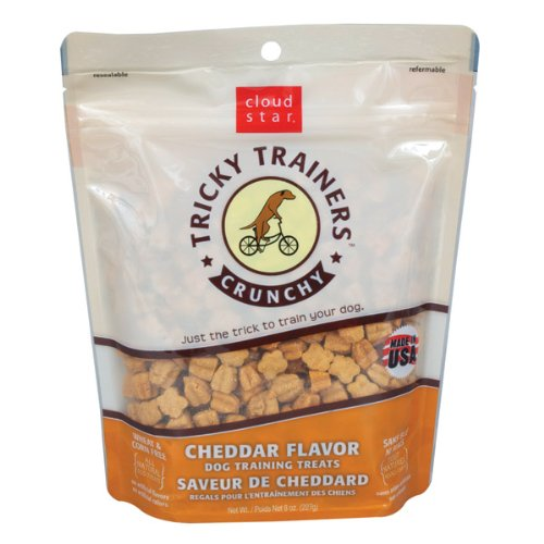 Cloud Star Crunchy Tricky Trainers Cheddar Flavor Dog Treats