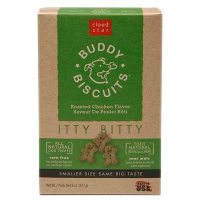Cloud Star Itty Bitty Buddy Biscuits Roasted Chicken Flavor Dog Treats