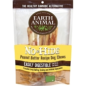 Earth Animal No-Hide Peanut Butter Chews Dog Treats, 7