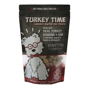 Einstein Pets Turkey Time Dog Treats, 8-oz Bag