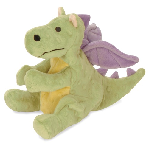 Go Dog Lime Green Baby Dragon Dog Toy