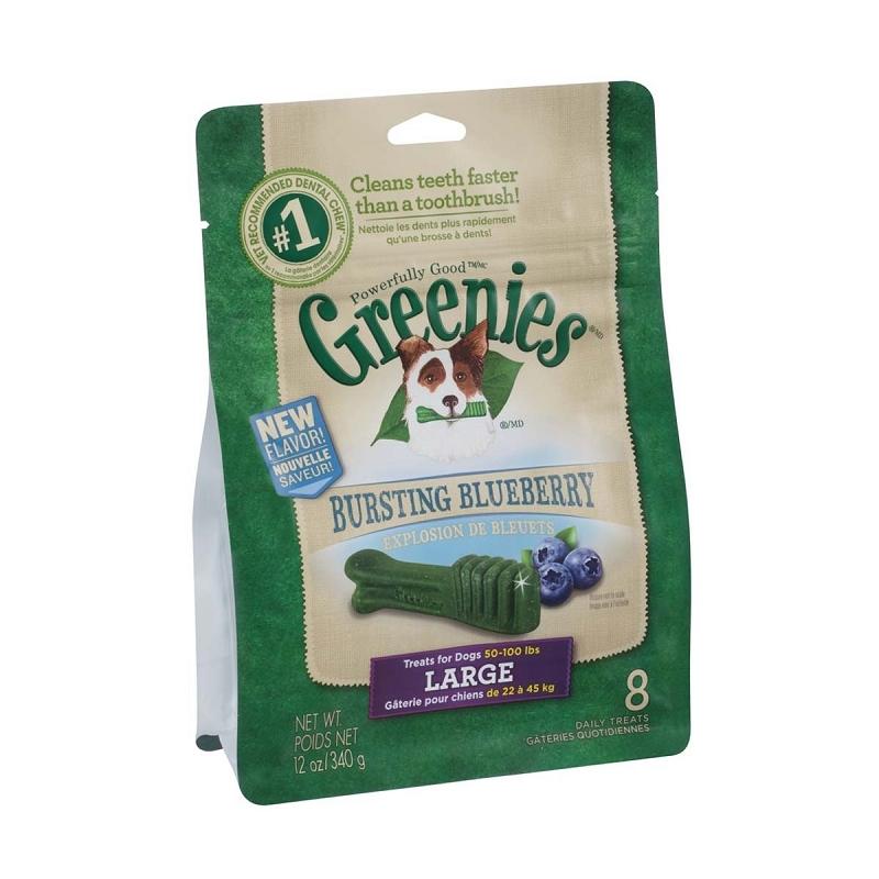 Greenies Large Dental Dog Treats  Count