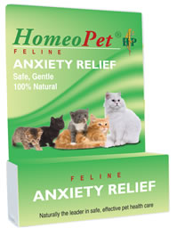 HomeoPet Anxiety Relief Remedy for Cats