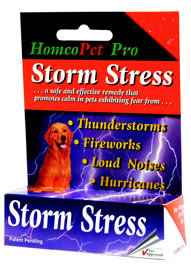 HomeoPet Storm Stress Relief for Dogs 20 to 80 lb