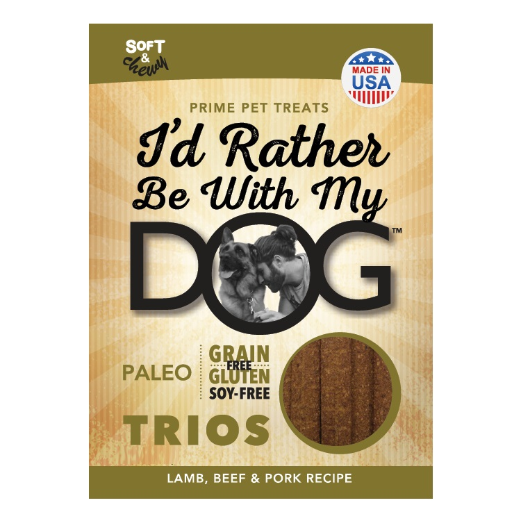 Image result for i'd rather be with my dog trios