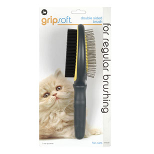 JW Pet Double Sided Brush For Cats