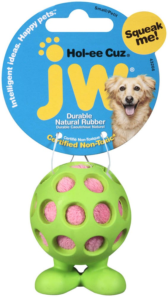 JW Pet Holee Cuz Dog Toy, Small
