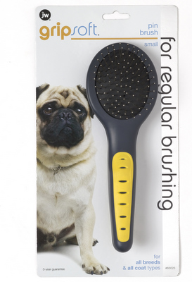 JW Pet Pin Dog Brush, Small