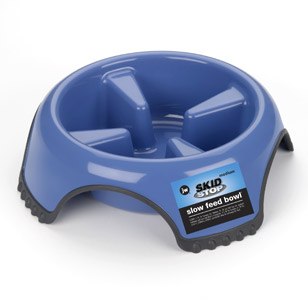 JW Pet Slow Feed Dog Bowl, Jumbo