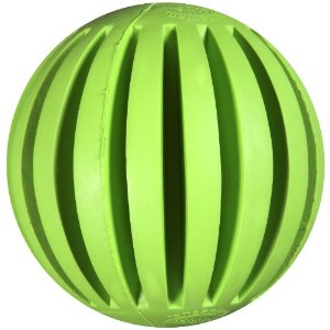 JW Pet Tanzanian Mountain Ball Dog Toy, Large
