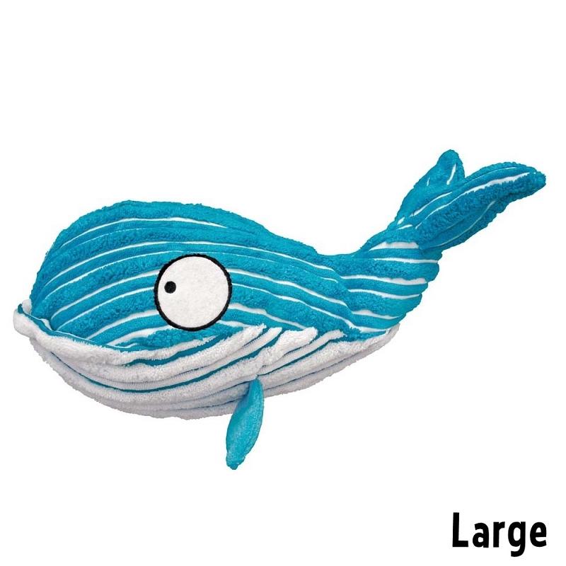 Kong Cuteseas Whale Dog Toy Large Naturalpetwarehouse Com