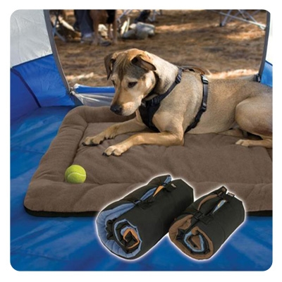 Kurgo Brown  WanderBed Travel Dog Bed, Large