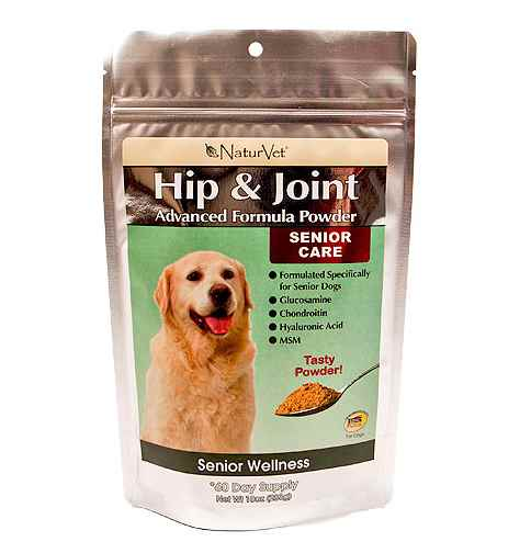 NaturVet Senior Hip & Joint Powder Dog Supplement
