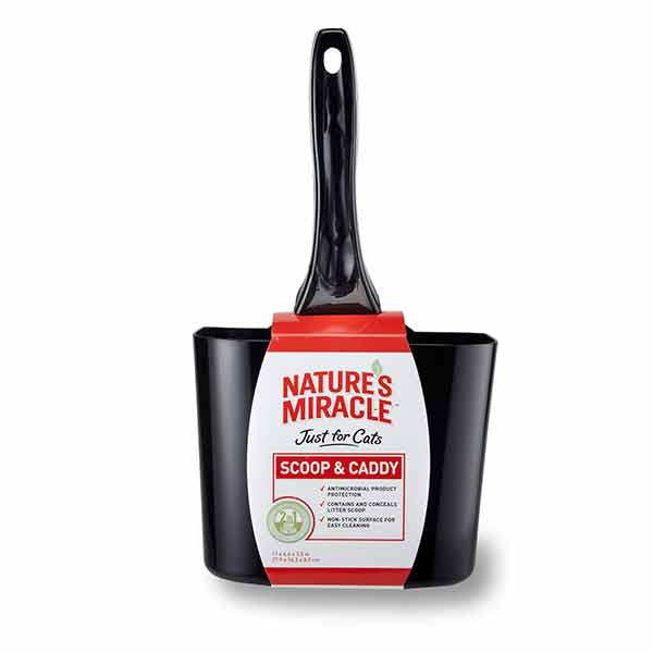 Natures Miracle Cat Litter Scoop and Caddy