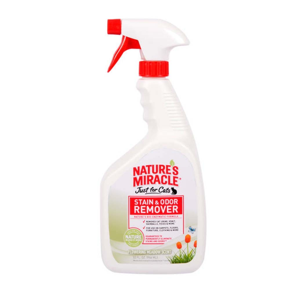 Nature's Miracle Just for Cats Flowering Meadow Scented Stain & Odor Remover