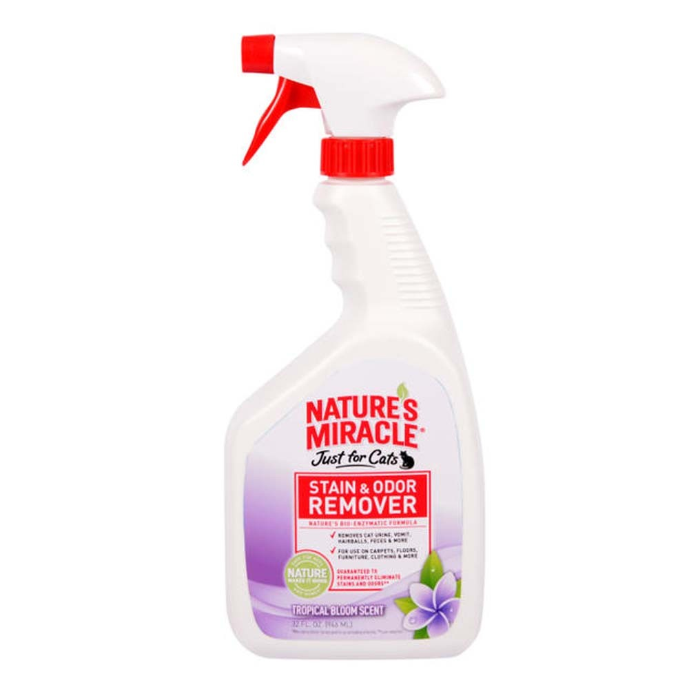 Nature's Miracle Just for Cats Tropical Bloom Scented Stain & Odor Remover