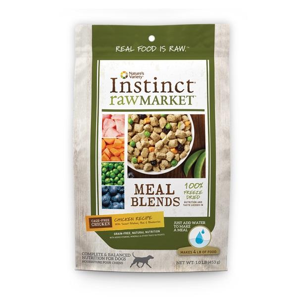 Natures Variety Instinct Raw Market Chicken Recipe Meal Blends