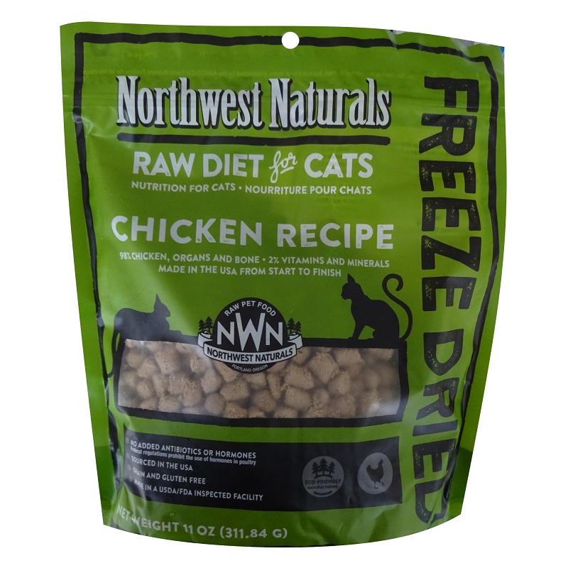 Northwest Naturals Chicken Recipe Freeze-Dried Cat Food